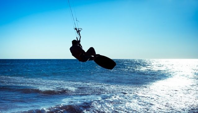 Kite-Surfing in Santa Maria