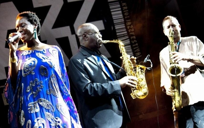 Manu Dibango - Kriol Jazz Festival 2012 - Photo Tó Gomes