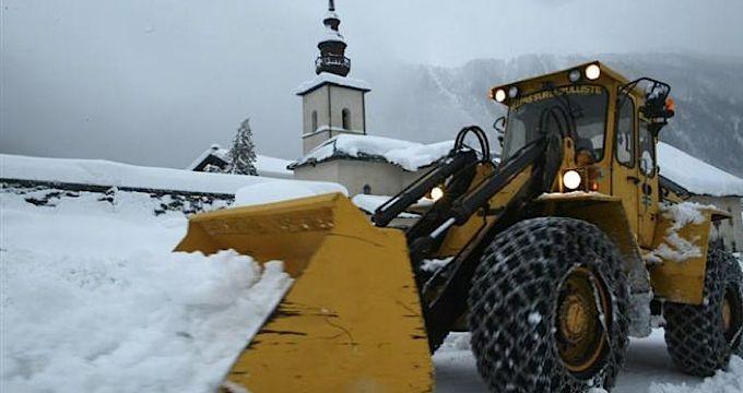Record-breaking snowfalls in Chamonix this season
