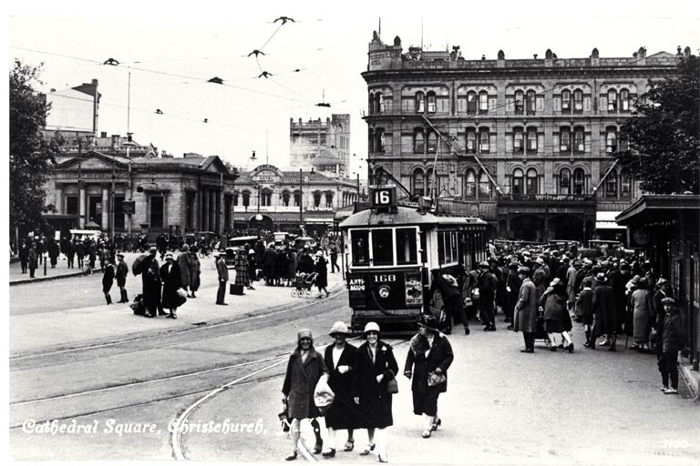 Christchurch Tram in the 1930