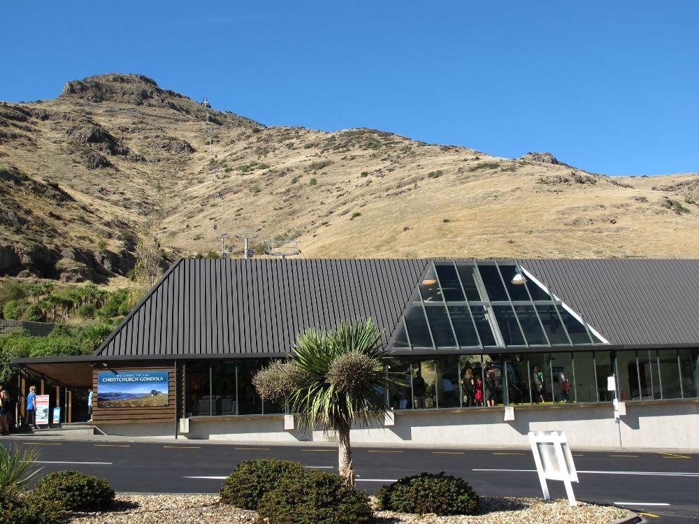 Arriving At The Christchurch Gondola