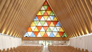 Christchurch's Transitional 'Cardboard' Cathedral