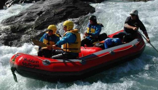 Hidden Valleys Rafting