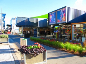 Re:Start Mall in Christchurch CBD