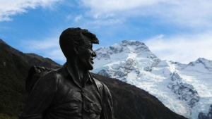 Sir Edmund Hillary Statue, Mt Cook National Park