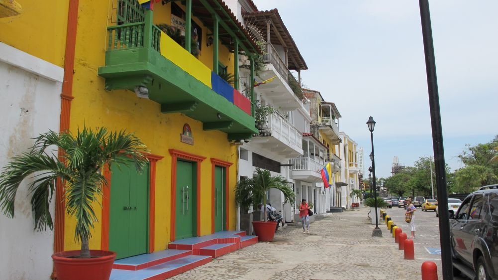 Getsemani neighborhood surroundings - Photo by : Luis Gomez