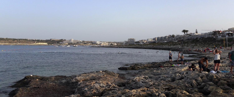 Qawra Point Beach - Ta' Fra Ben