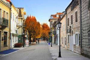 Centinje Street, Central Montenegro