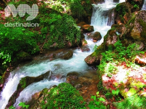 Waterfalls on Tara River