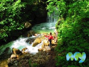Waterfall on Tara River