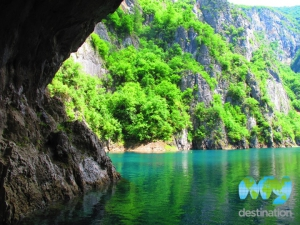 Cave on Pivsko Lake