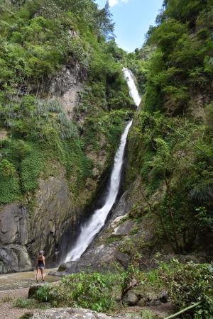 Waterfall in San Cristobal Canyon, Barranquitas