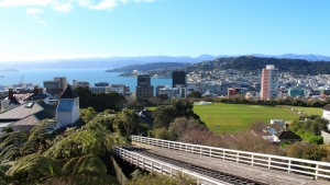 Wellington Cable Car Summit View