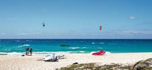 Kite Surfing at Silver Sands Beach