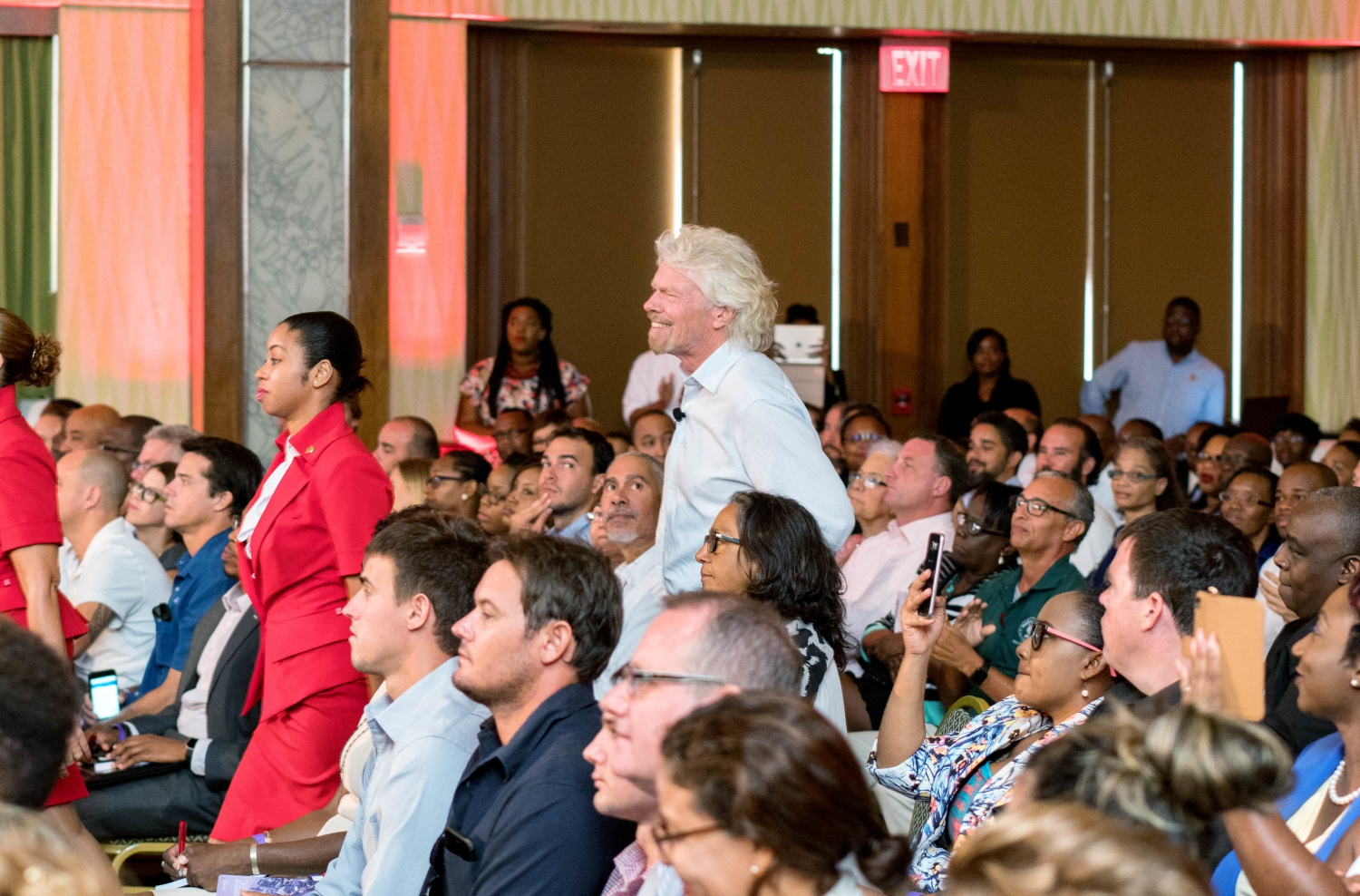 A chat with Sir Richard Branson