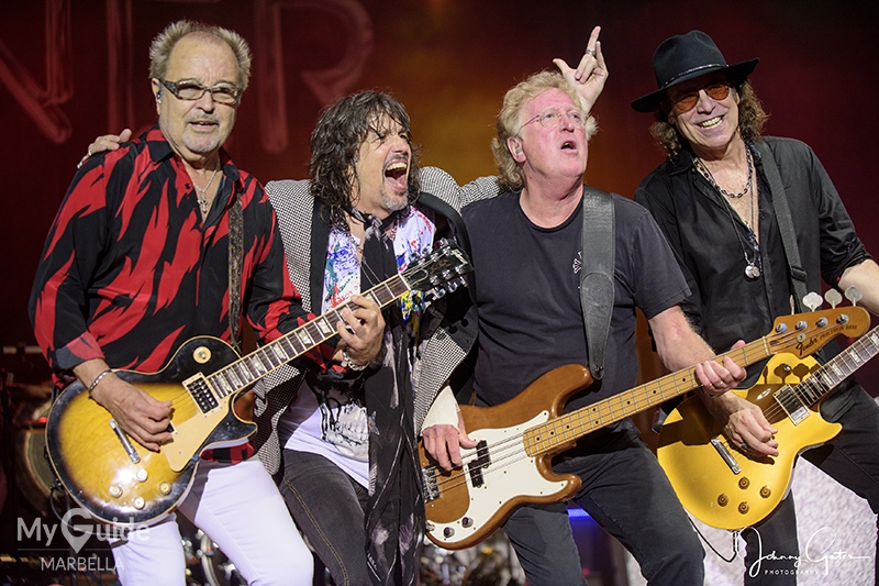 FOREIGNER Rocks Marbella with a special guest appearance of original member Rick Wills