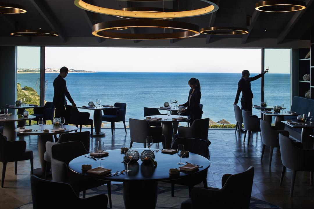Restaurants with a view in the Algarve