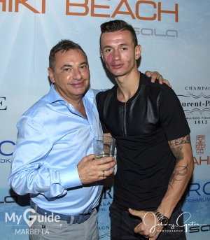 Rob Segal and Bersant Celina