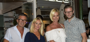 Double Date Night For Denise van Outen in Marbella