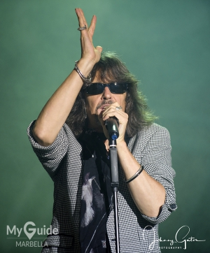 FOREIGNER Rocks Marbella with a special guest appearance of original bassit Rick Wills
