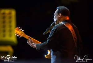 George Benson is a sell out in Marbella