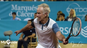 Carlos Moya digs deep to win the 2017 Senior Masters Cup in Marbella