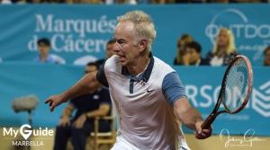 Carlos Moya digs deep to win the 2017 Senior Masters Cup in Marbella