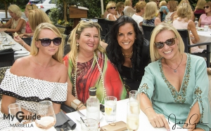 Ladies that lunch in Marbella do it with Panache