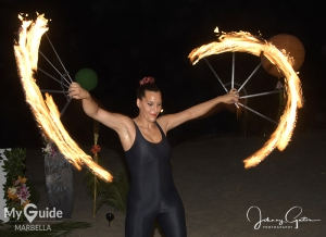 Mahiki Beach Marbella official opening with DJ Marvin Humes