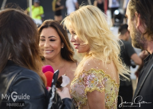 Marbella media frenzy as Pamela Anderson opens Playa Padre with Maria Bravo