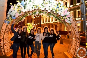 Once with Moscow City Pub Crawl