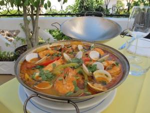 Cataplana, at Porches Velho restaurant, Algarve