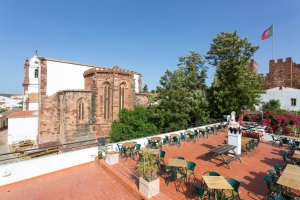 View from Café Ingles, Silves