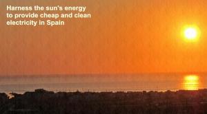 Solar energy in Spain