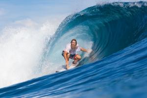 Surfing in Lombok
