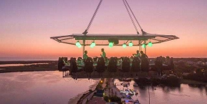 Dinner in the Sky at Quinta do Lago this summer