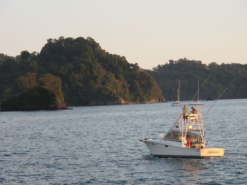 Boating in Costa Rica
