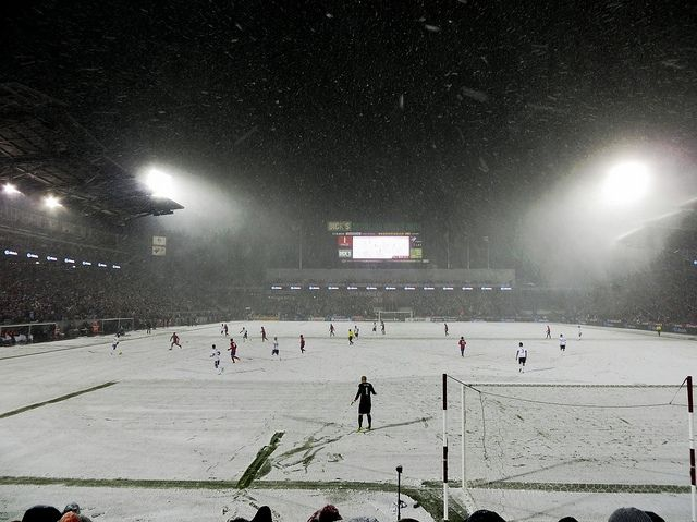 World Cup Qualifier in the Snow