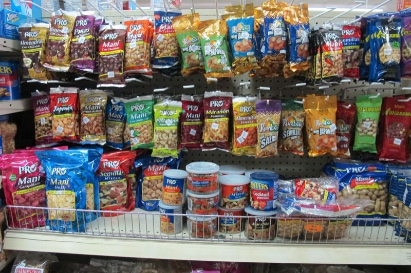 stores are filled with snacks
