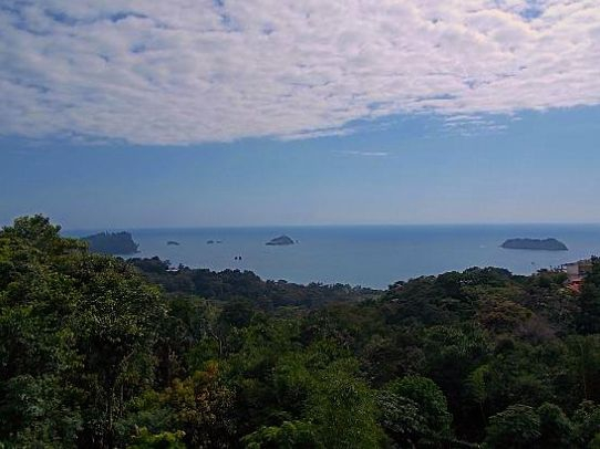 view over Manuel Antonio