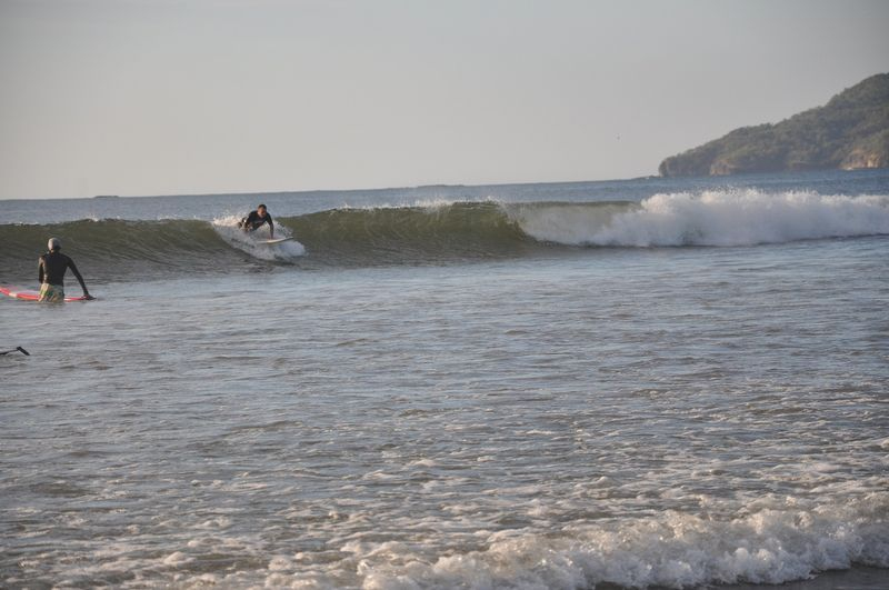 The surf in Costa Rica