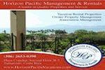 Horizon Pacific Management and Rentals