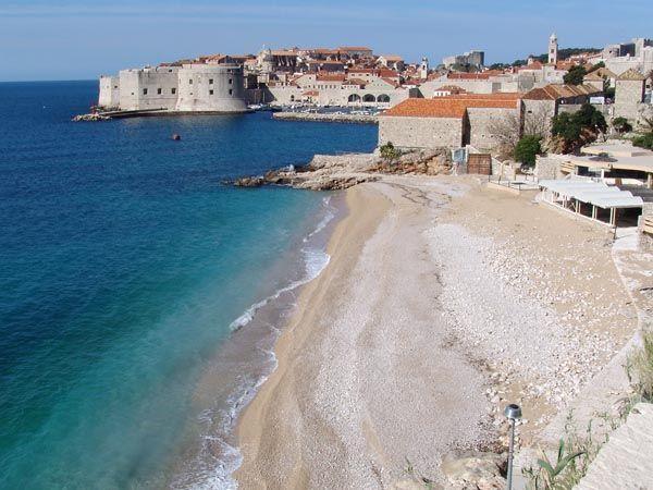 Dubrovnik, Banje Beach, Banje
