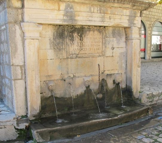 Ston Water Fountain