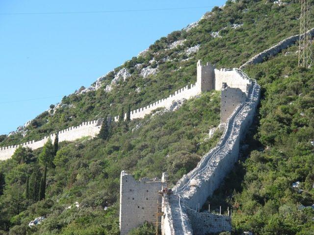 Mali Ston Walls
