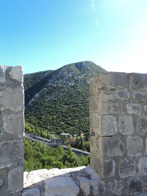 Great walls of Ston