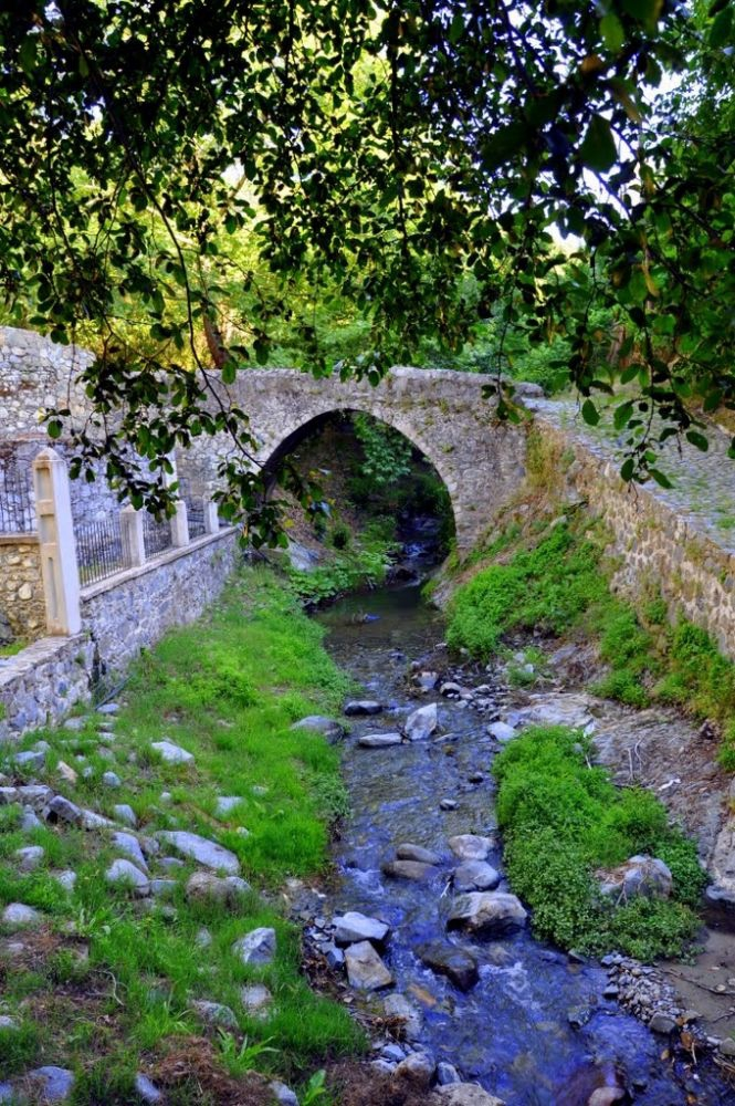 Venetian stone bridge