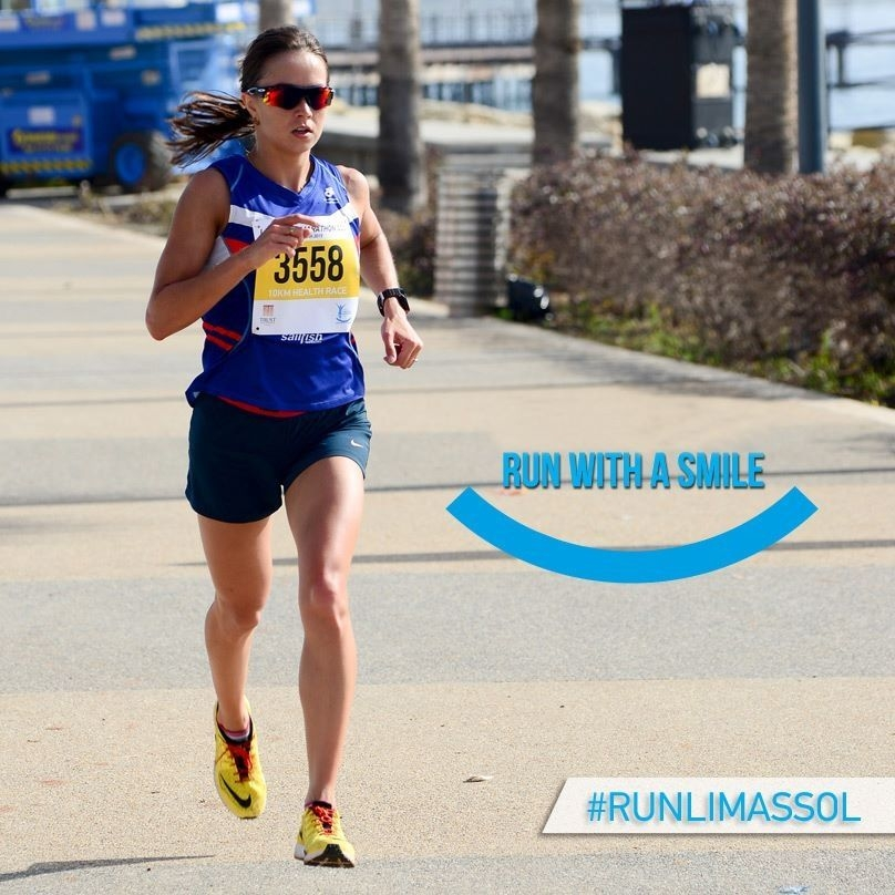 Run with a smile