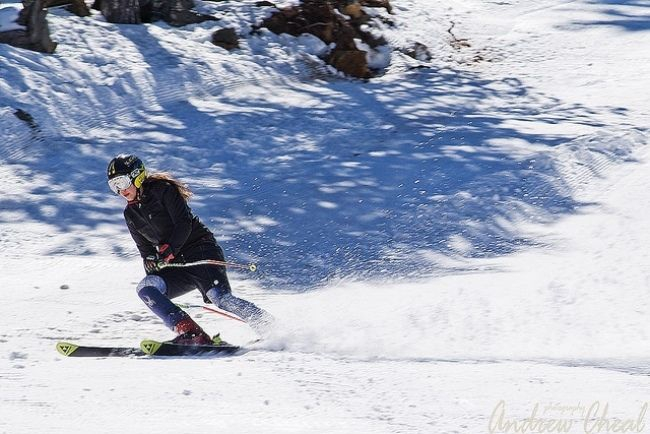 Skiing on Troodos