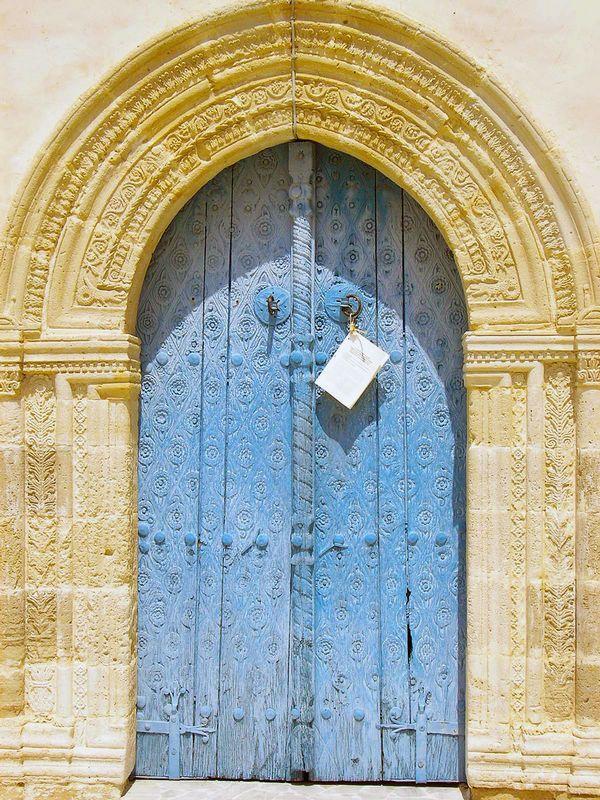 Lefkara Church Door